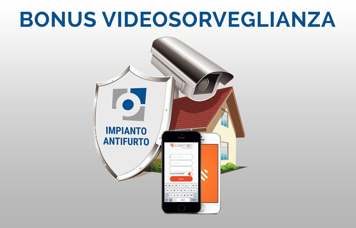 Bonus videosorveglianza: credito d'imposta del 100%