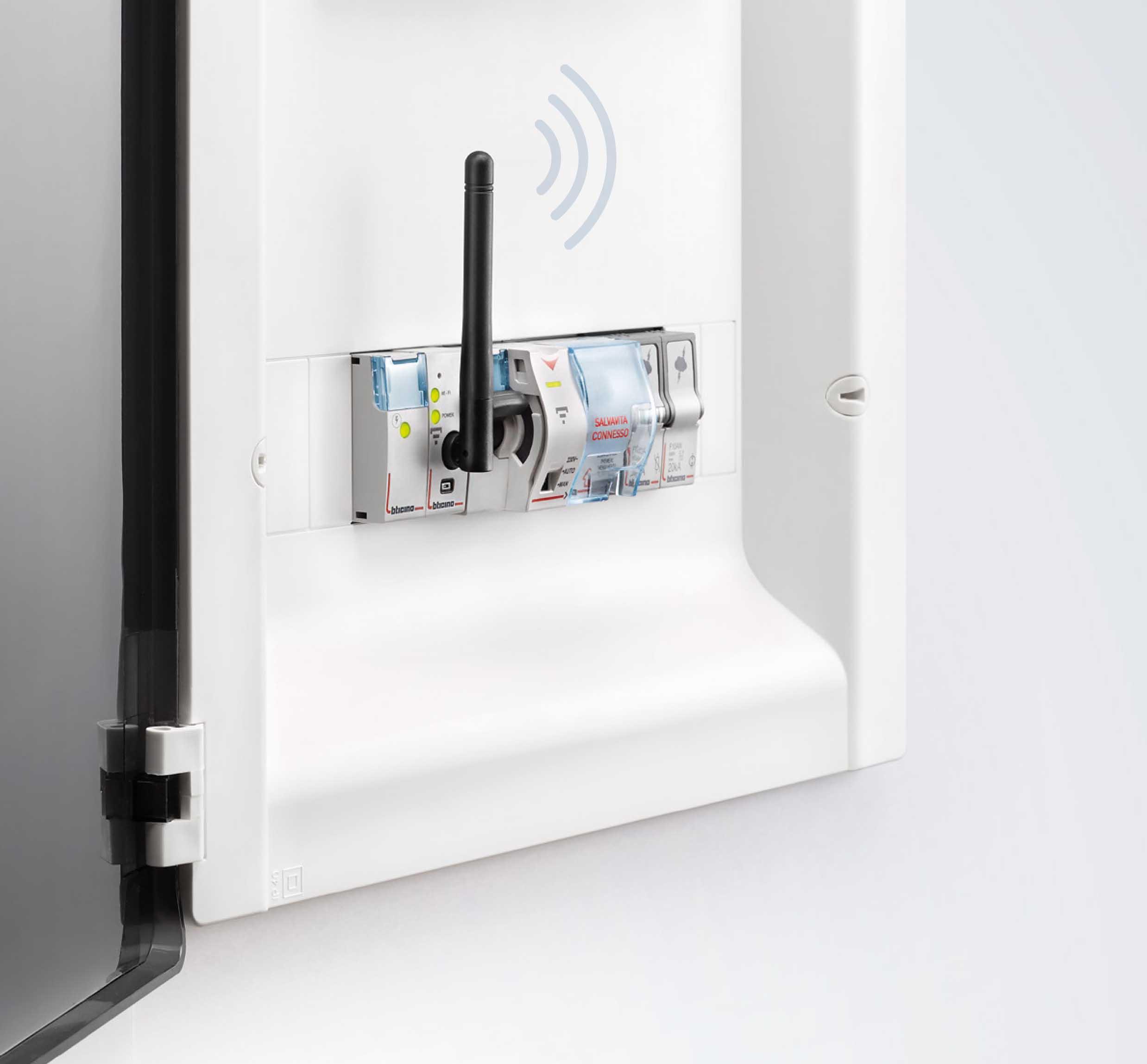 Salvavita Connesso con wi-fi integrato: la nuova soluzione di BTicino